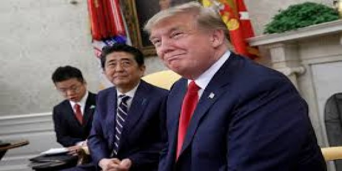 Trump'ın Shinzo Abe'ye kestiği fatura çok konuşulur