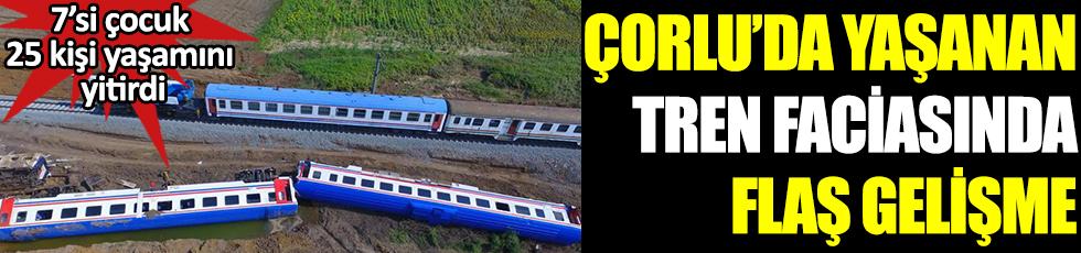 Çorlu tren faciasında flaş gelişme. 7'si çocuk 25 kişi yaşamını yitirti. Yeni bilirkişi raporu mahkemeye ulaştı