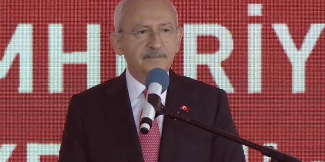 Kılıçdaroğlu açılış töreninde konuştu