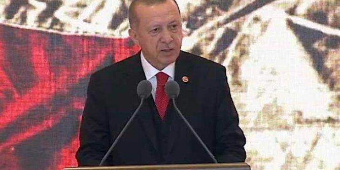 Çanakkale'de Atatürk'ü yok sayanlara Erdoğan'dan tarihi açıklama