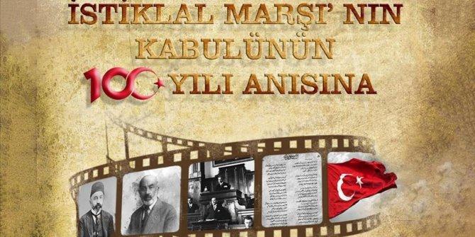 İstiklal Marşı'nın kabulünün 100'üncü yılı anısına kısa film yarışması