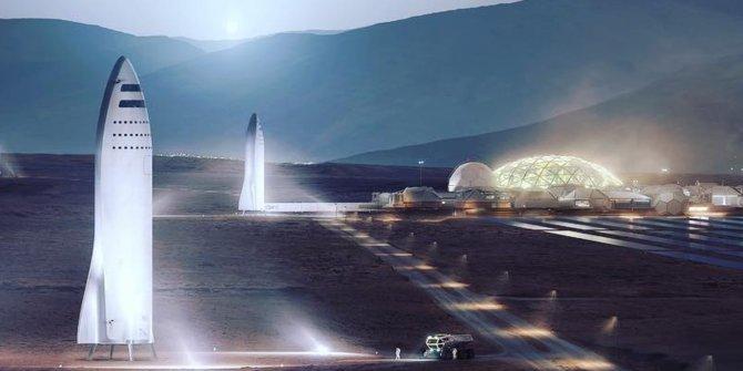 Elon Musk'ın SpaceX'i Mars'ta kendi kanunlarını koyacak