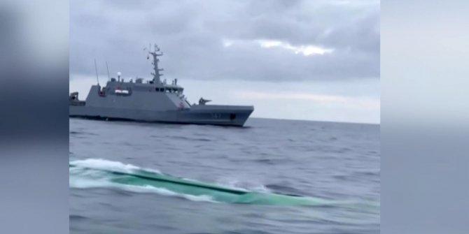 Kolombiya'da ablukaya alınan denizaltıya şok baskın. İçinden çıkanlar şaşkına çevirdi
