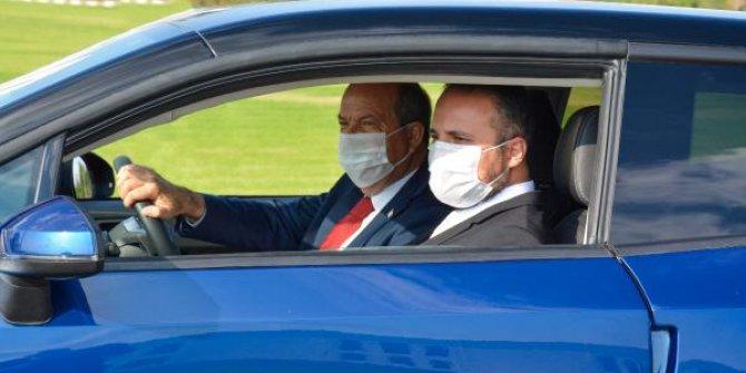 Ersin Tatar yerli otomobili test etti