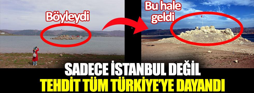Barajın suyu çekilince bu hale geldi. Sadece İstanbul değil, tehdit tüm Türkiye'ye dayandı