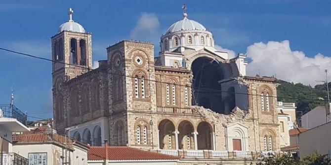 Deprem Sisam adasını da vurdu. 2 ölü