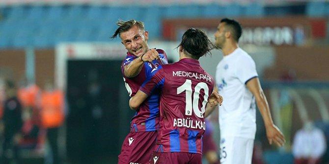 Trabzonspor'a Kasımpaşa karşısında büyük şok. 7 gollü müthiş mücadele