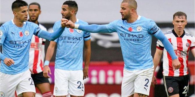 Manchester City, Sheffield United'ı tek golle geçti