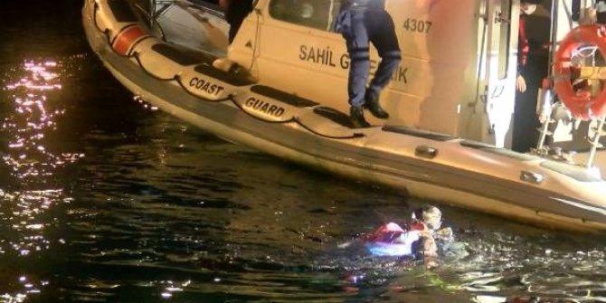Ailesiyle tartışıp denize atladı, boğuldu