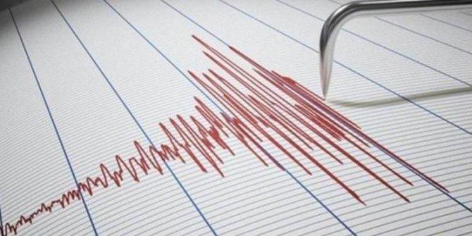 Ege Denizi'nde 3.3 büyüklüğünde deprem