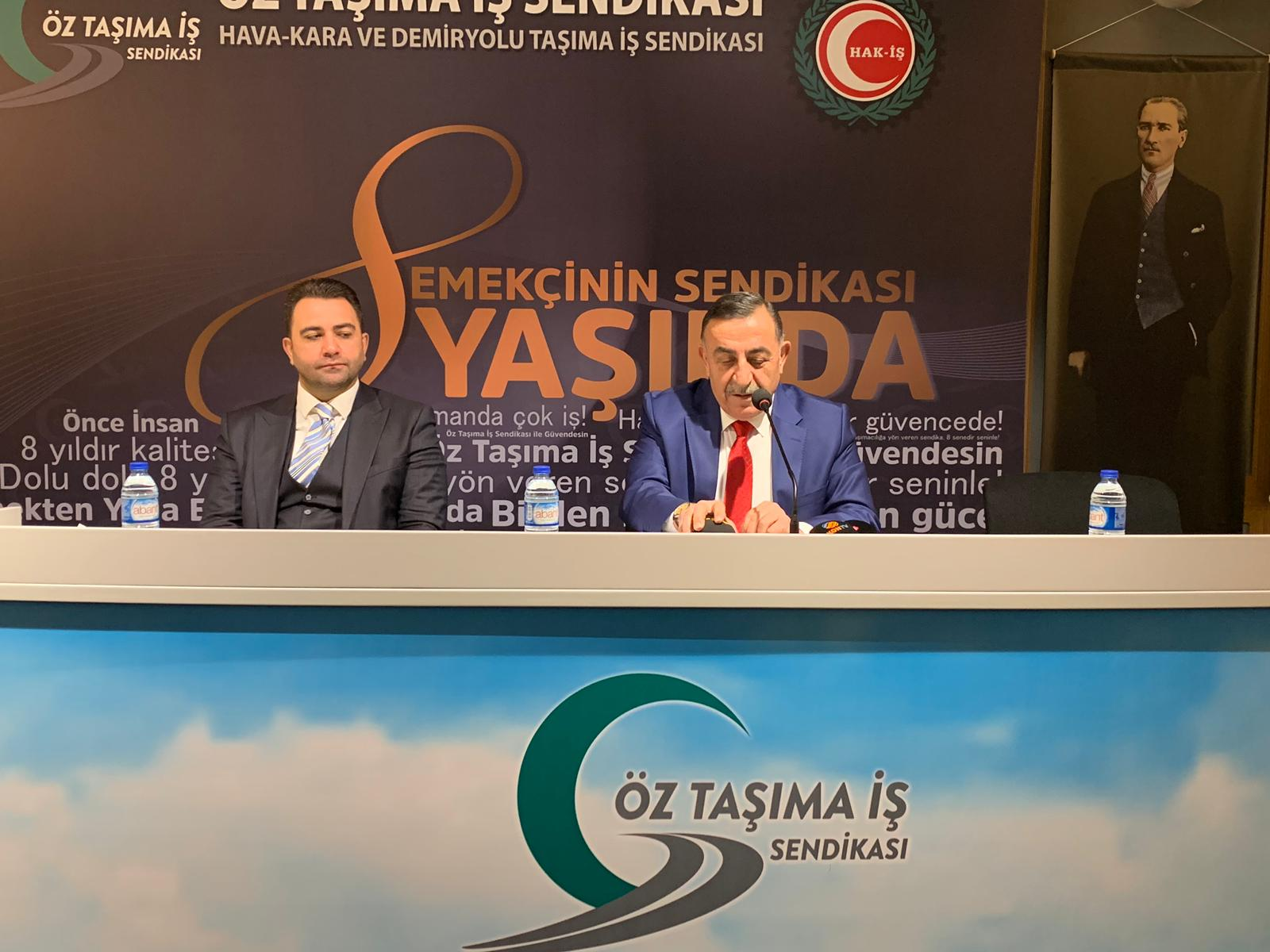 Sendika Başkanı Mustafa Toruntay'dan şoför alımı müjdesi!