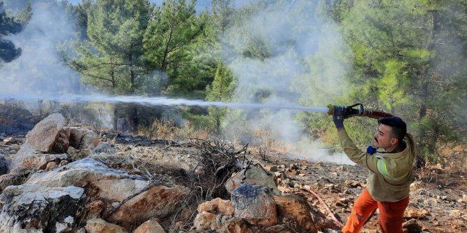 Ormancıları şok eden yangın