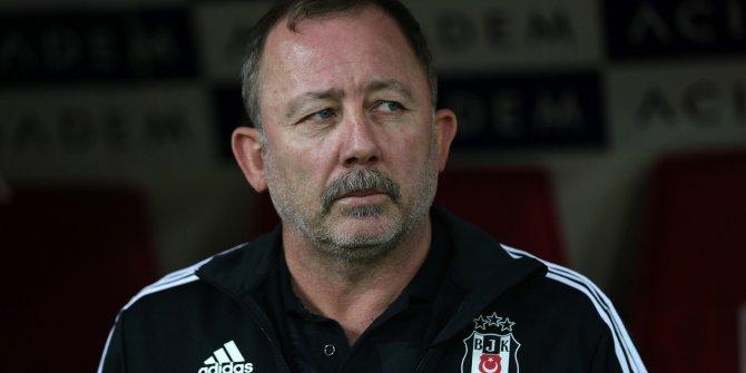 Beşiktaş Teknik Direktörü Sergen Yalçın: İlk yarı istediğimiz ruh sahadaydı