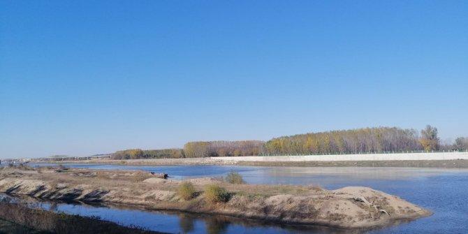 Meriç Nehri'nde su seviyesi alarm veriyor
