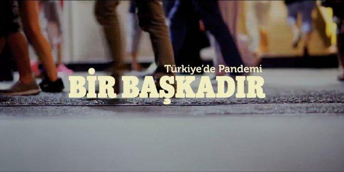 Türkiye'nin korona ile sınavını en güzel özetleyen video Saadet Partisi'nden geldi. Bir Başkadır
