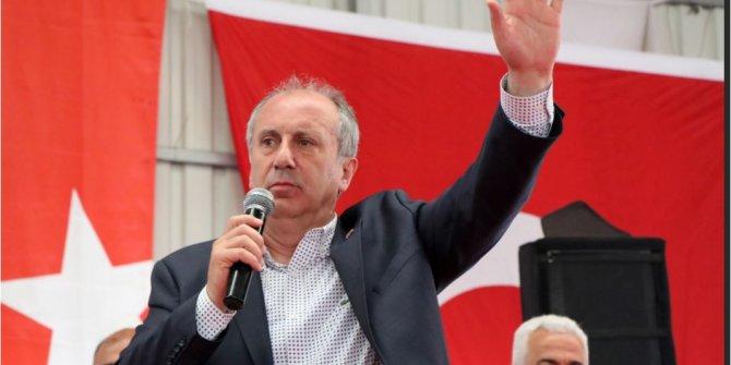 Muharrem İnce'den Doğu Akdeniz' de Türk bandıralı geminin durdurulmasına tepki