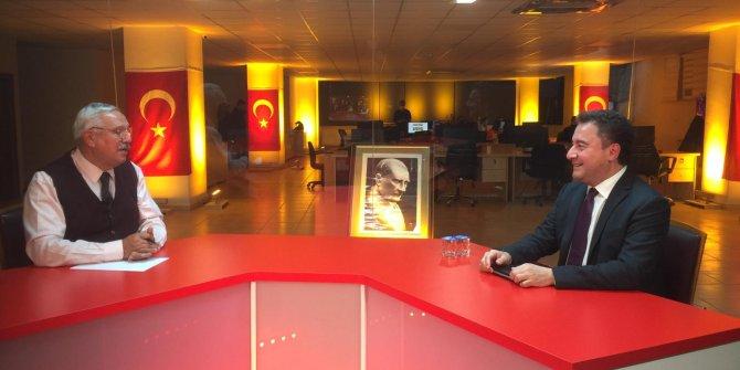 Flaş… Flaş… DEVA Partisi Genel Başkanı Ali Babacan Yeniçağ TV'de açıkladı