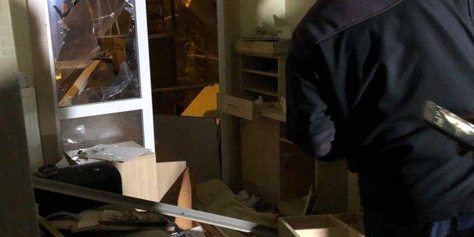 Bursa'da evde patlama. Ortalık savaş alanına döndü