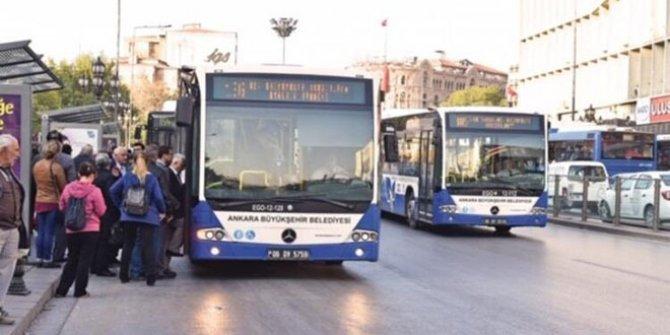 Ankara'da toplu taşımada korona kararı