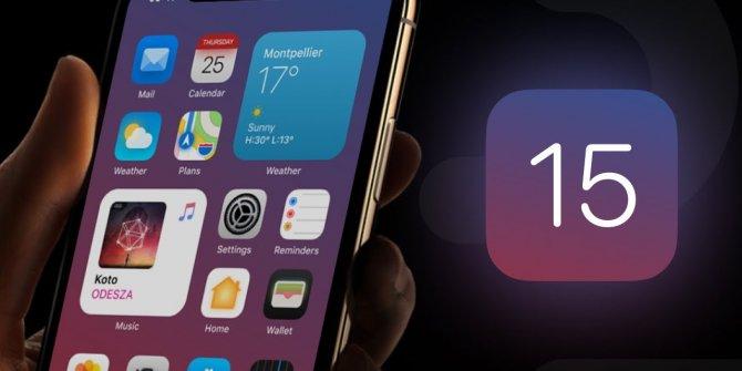 iPhone'larda iOS 15 güncellemesini alacak telefon modelleri belli oldu