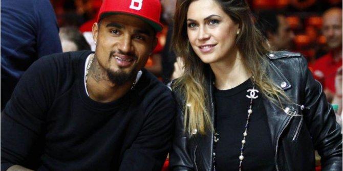 Eski Beşiktaşlı Boateng, model eşi Melissa Satta'dan boşandı