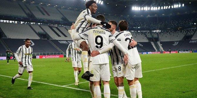 Juventus son dakikada sevindi