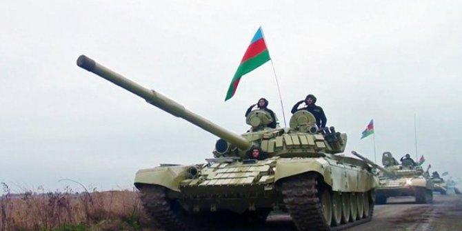 Azerbaycan ordusu 27 yıldır işgal altında bulunan Kelbecer'de