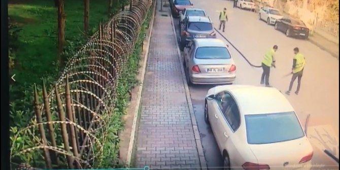 Kameralar önünde odun doğar gibi doğrayıp kamyona yüklediler, değeri 1 milyon lira