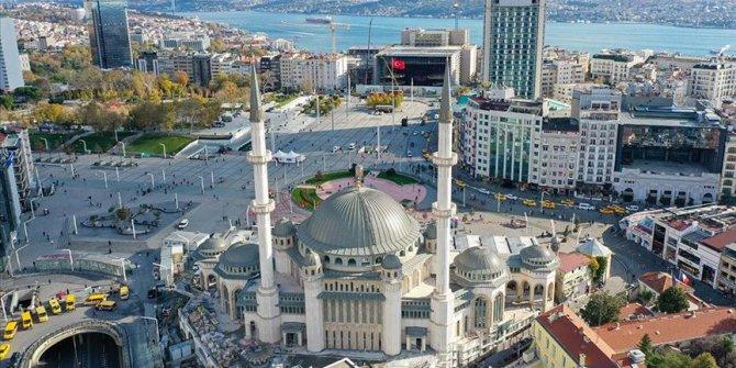 Taksim'e yapılan caminin açılış tarihi belli oldu