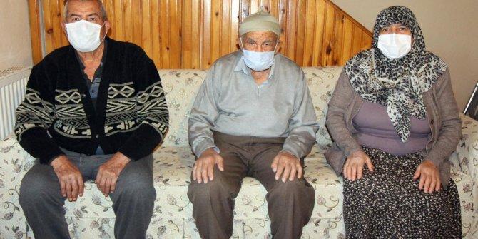 93 yaşındaki Nuri Güler korona virüsü yenmeyi başardı
