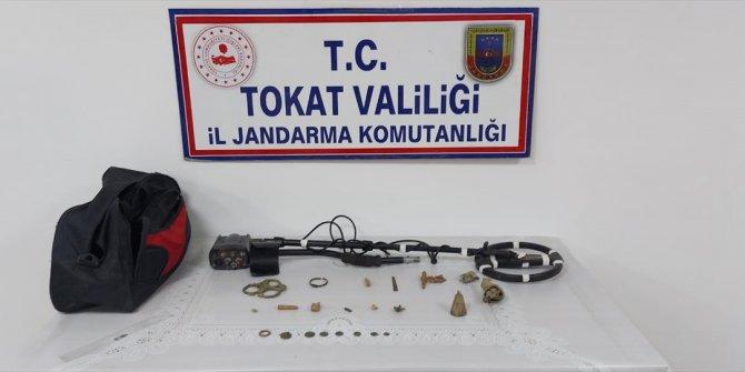 Tokat'ta tarihi eser operasyonu: 1 gözaltı