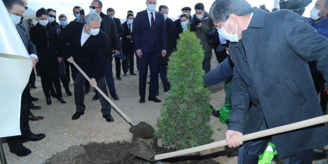 Ceren Damar Şenel Hatıra Ormanı törenle açıldı