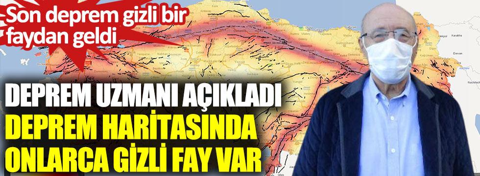 Son deprem gizli bir faydan geldi. Deprem uzmanı açıkladı Türkiye'nin deprem haritasında onlarca gizli fay var