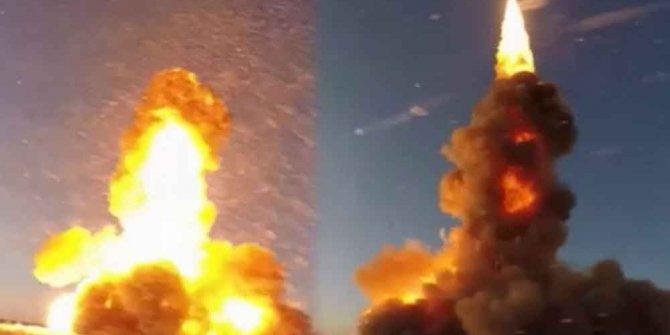 Rusya yeni füzesini test etti