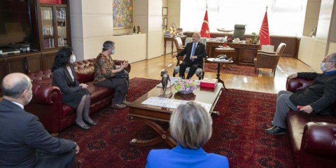 CHP lideri Kemal Kılıçdaroğlu, Türk Tabipleri Birliği heyetiyle görüştü