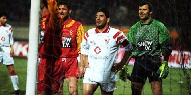 Unutulmaz kaleci Hayrettin Maradona ile anısını böyle anlattı