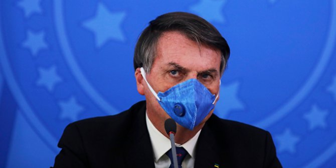 Brezilya Devlet Başkanı Bolsonaro yine yaptı yapacağını. Bu benim hakkım diyerek duyurdu