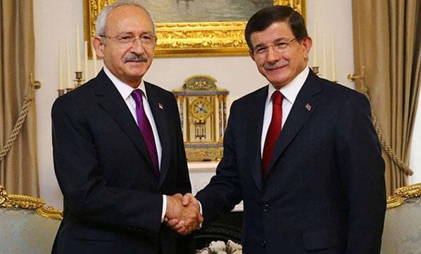 Kılıçdaroğlu'ndan Davutoğlu'na geçmiş olsun telefonu