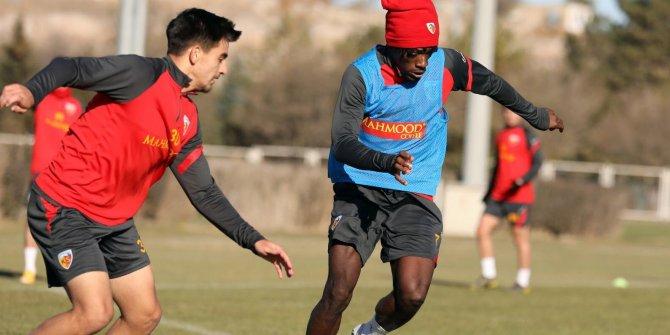 Kayserispor'da Karagümrük maçı hazırlıkları devam ediyor