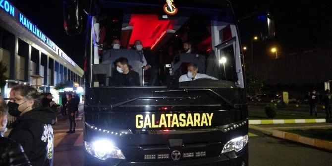 Galatasaray, Trabzon'a iniş yaptı