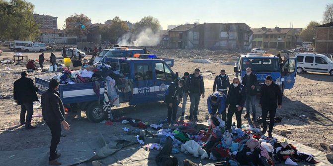 Ankara'da kaçak pazar operasyonu