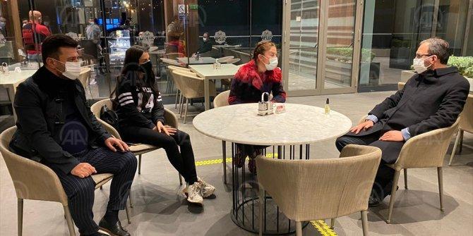Bakan Kasapoğlu Yılmaz Vural'ı ziyaret etti