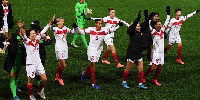 Kadın A Milli Takımı Estonya'yı perişan etti