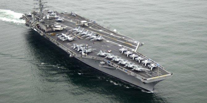 ABD uçak gemisinin rotası tekrar Orta Doğu