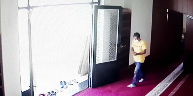Camiden telefon çalan adama tutuklama