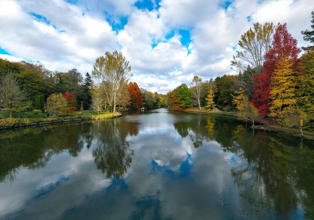 Sonbaharın en çok yakıştığı yer Atatürk Arboretumu