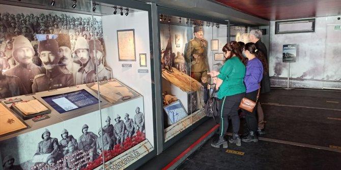 Çanakkale Savaşları Mobil Müzesi Osmaniye'de