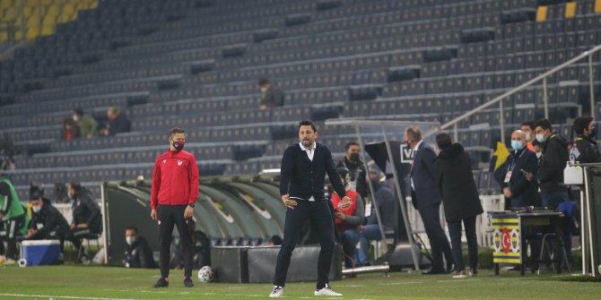 Fenerbahçe'de Erol Bulut'tan maç sonu itirafı