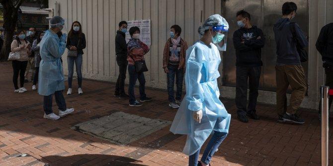 Hong Kong'da test merkezleri kuruldu