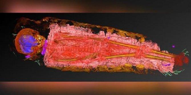 Bin 900 yıllık kız çocuğu mumyasından çıktı: Gizemli nesnenin ne olduğu çözülemiyor
